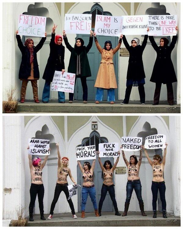 Islamofobia No es Feminismo