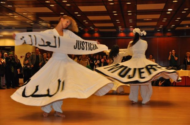 Mujeres Derviches en el Congreso de Feminismo Islámico. España.