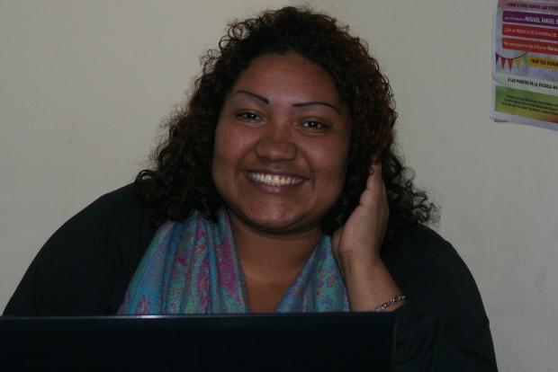 Gina Escheback, Refugiada Afrocolombiana en Argentina